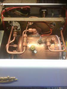 Astoria 1 group Dual fuel top boiler view