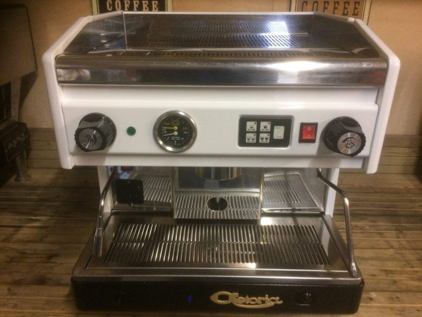 Astoria Argenta Dual Fuel 1 Group Coffee Machine