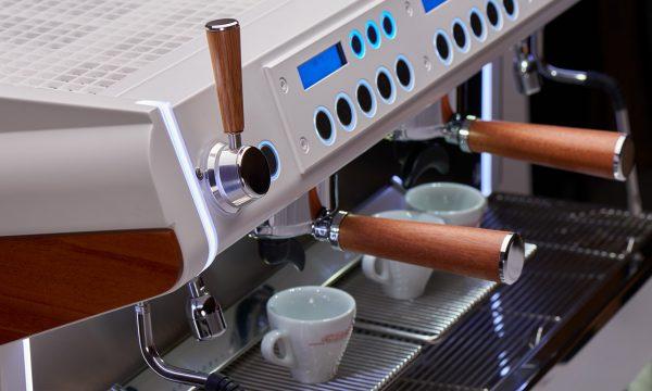 Conti Monte Carlo espresso machine in white