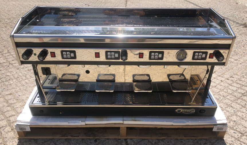 Astoria Argenta 4 Group Dual Fuel Espresso Machine